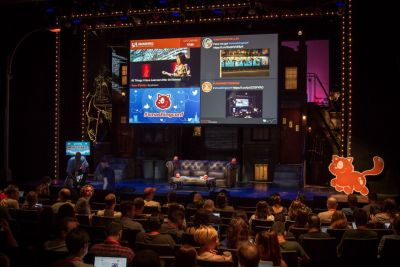 SmashingConf stage in NYC