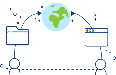 An illustration the world wide web as an information ecosystem