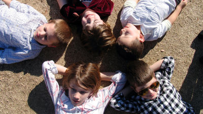 Five kids, five users