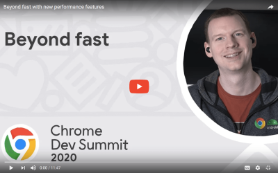 Jake Archibald gives a whirlwind tour in a video presenting the new features and proposals to help users improve the performance of their pages