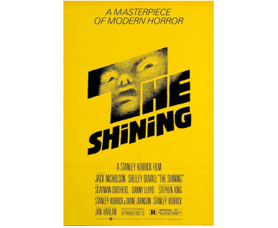 Poster for the Stanley Kubrick film 'The Shining'