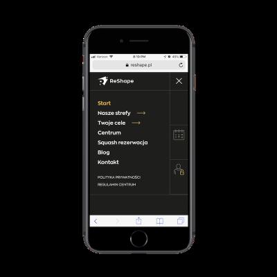ReShape navigation calendar