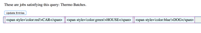 Vue will quote the HTML an insert it as text.