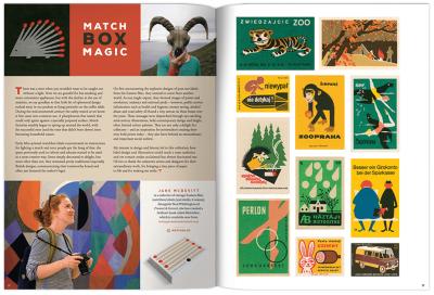 Pressing Matters magazine spread