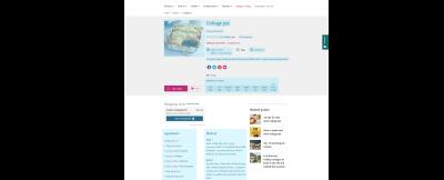 Screenshot of a BBC cottage pie recipe
