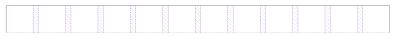 Screenshot of Firefox's grid inspector that shows twelve columns.