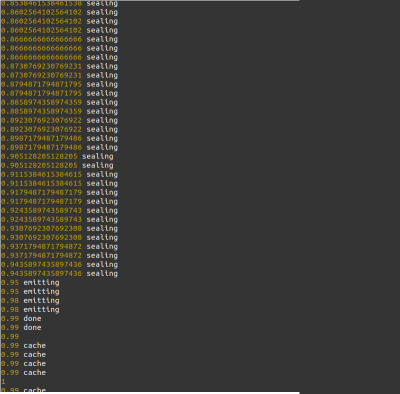 webpack progress plugin output