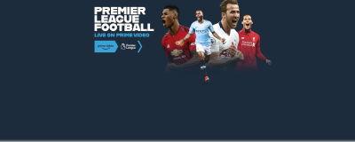 Screenshot says: Premier league football - Live on Prime video