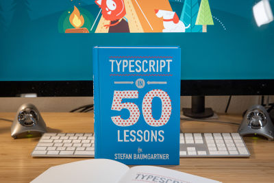 The cover of the new Smashing Book, TypeScript in 50 Lessons