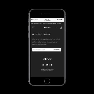 inkbox subscription form