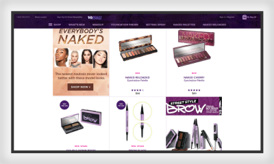 The Urban Decay products are a classic example of similarity in design