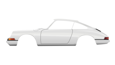 Final image 1/3: The Porsche 911 car should look very similarly to this now.