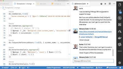 vs code slack chat extension