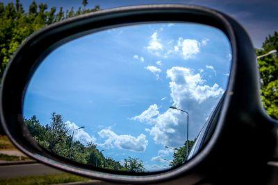 Car side view mirror