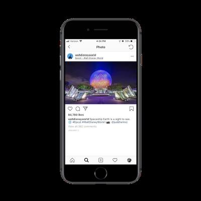 Walt Disney World social media