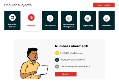 edX redesign: fact sheet