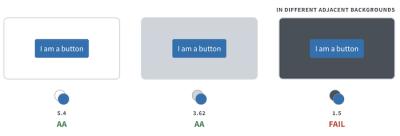 The Button Contrast Checker