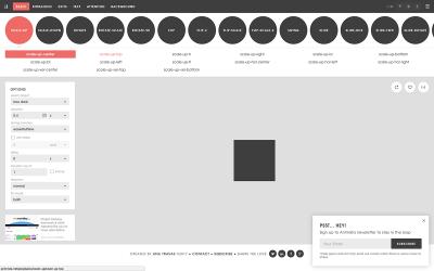 Screenshot of Animista