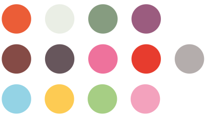 Selecting a color palette