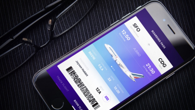 IFLY A380 app users can access the AR feature by tapping on the 'glass' icon