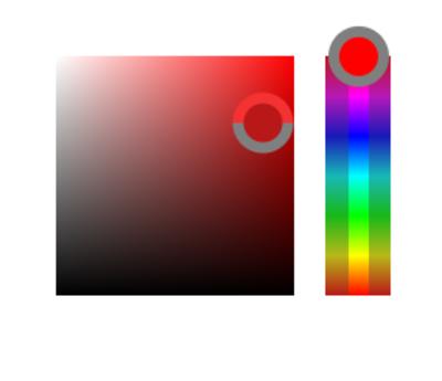 Photoshop's HUD color picker