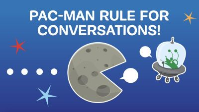 Slide showing a graphic of the pacman rule