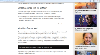 Screenshot of BBC article with references to images that are not displaying