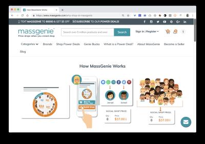 massgenie homepage