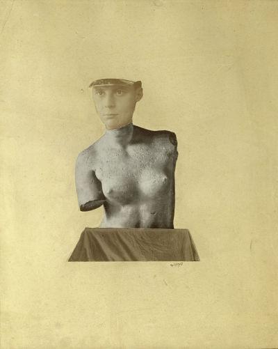 Typical Vertical Mess as Depiction of the Dada Baargeld by Johannes Theodor Baargeld