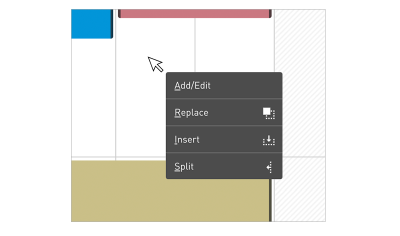 You can prioritize tasks, duplicate them, extend or even split a task with Float.