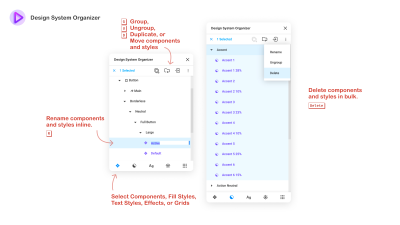 Design System Organizer UI