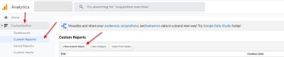 Google Analytics Custom Reports - How to access custom reports