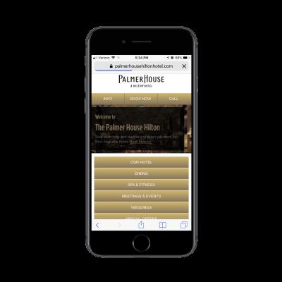 Palmer House Hilton website