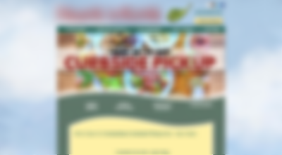 A blurred-out website to demonstrate how independent restaurants still have unresponsive designs