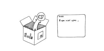 Cypress uses Node.js