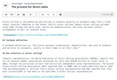 Updating a blog post on Prose.io