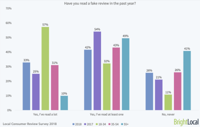 BrightLocal fake reviews