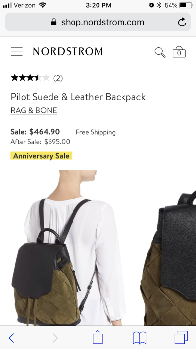 Nordstrom uses color for immediacy