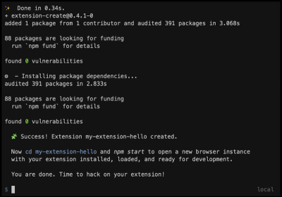 Create Cross-Browser Extensions with no build configuration