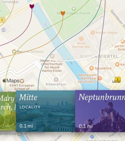 V for Wiki scrollable navigation