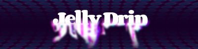 Screenshot of a 'dripping' text animation