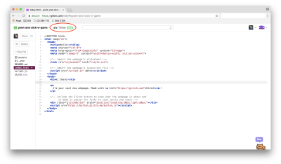 """To preview the webpage, click on """"Preview"""" in the top left. We will refer to this as your preview. Note that any changes in your editor will be automatically reflected in this preview, barring bugs or unsupported browsers."""