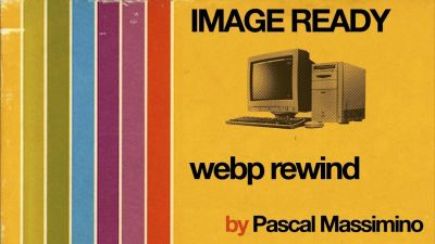 A slide used for Pascal Massimino's talk titled Image ready: webp rewind