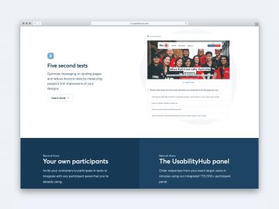 Usability Hub Website