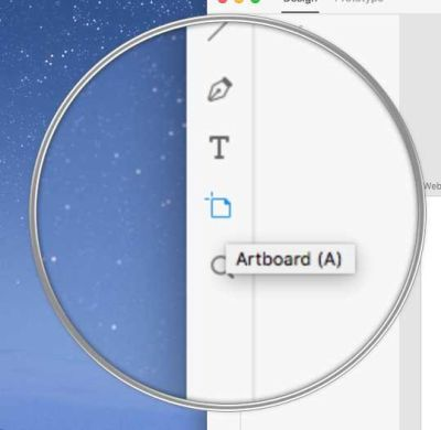 creating artboard for iPhone formats