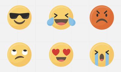 Super large emojis