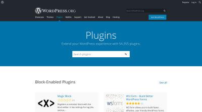 WordPress plugin directory