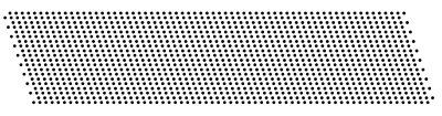 Smart copy the first two lines, and create the whole pattern.