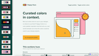 Real-World Color Palette Inspiration