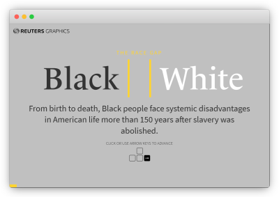 reuters piece about systemic racism black and white